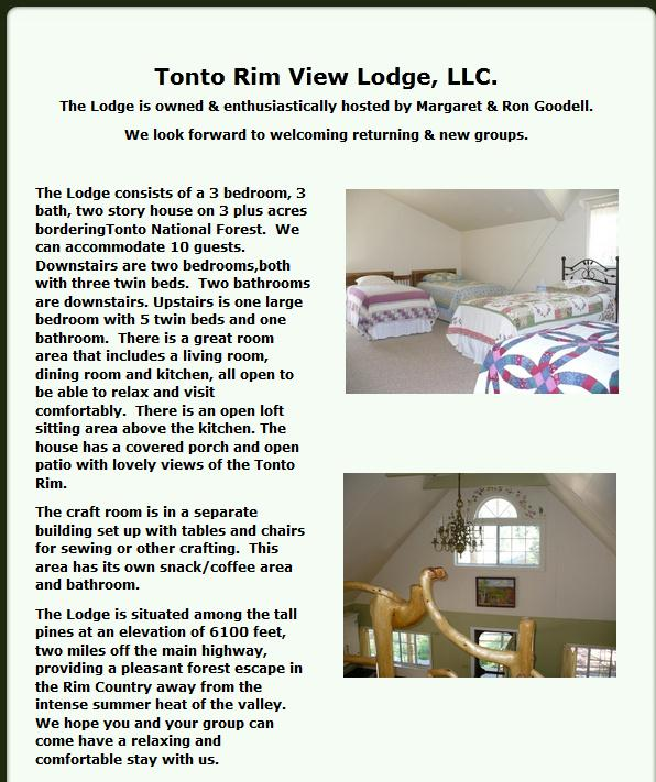 Tonto Rim View Lodge