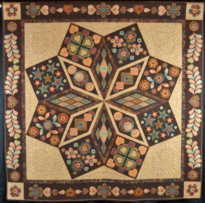 Made by Sandy LawrenceBest of Show Winner of Arizona quilters Guild 2012 Quilt Show