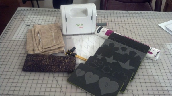 Ready to cut applique pieces.